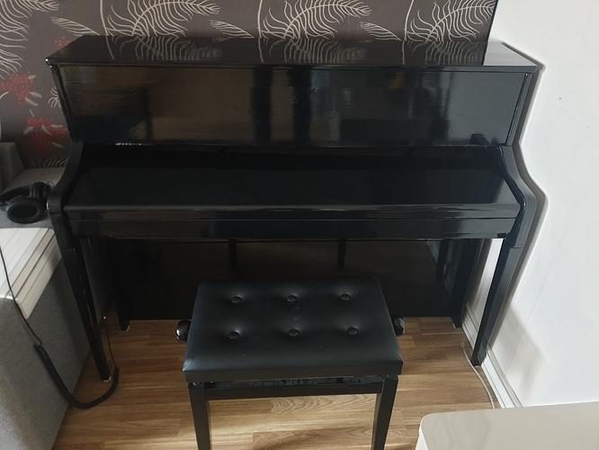 Piano closed