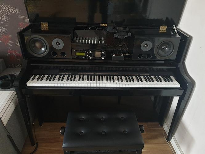 Piano opend