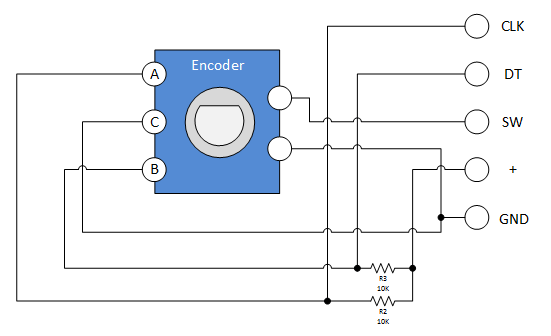 Keyes-KY-040-Rotary-Encoder-Module-Schematic