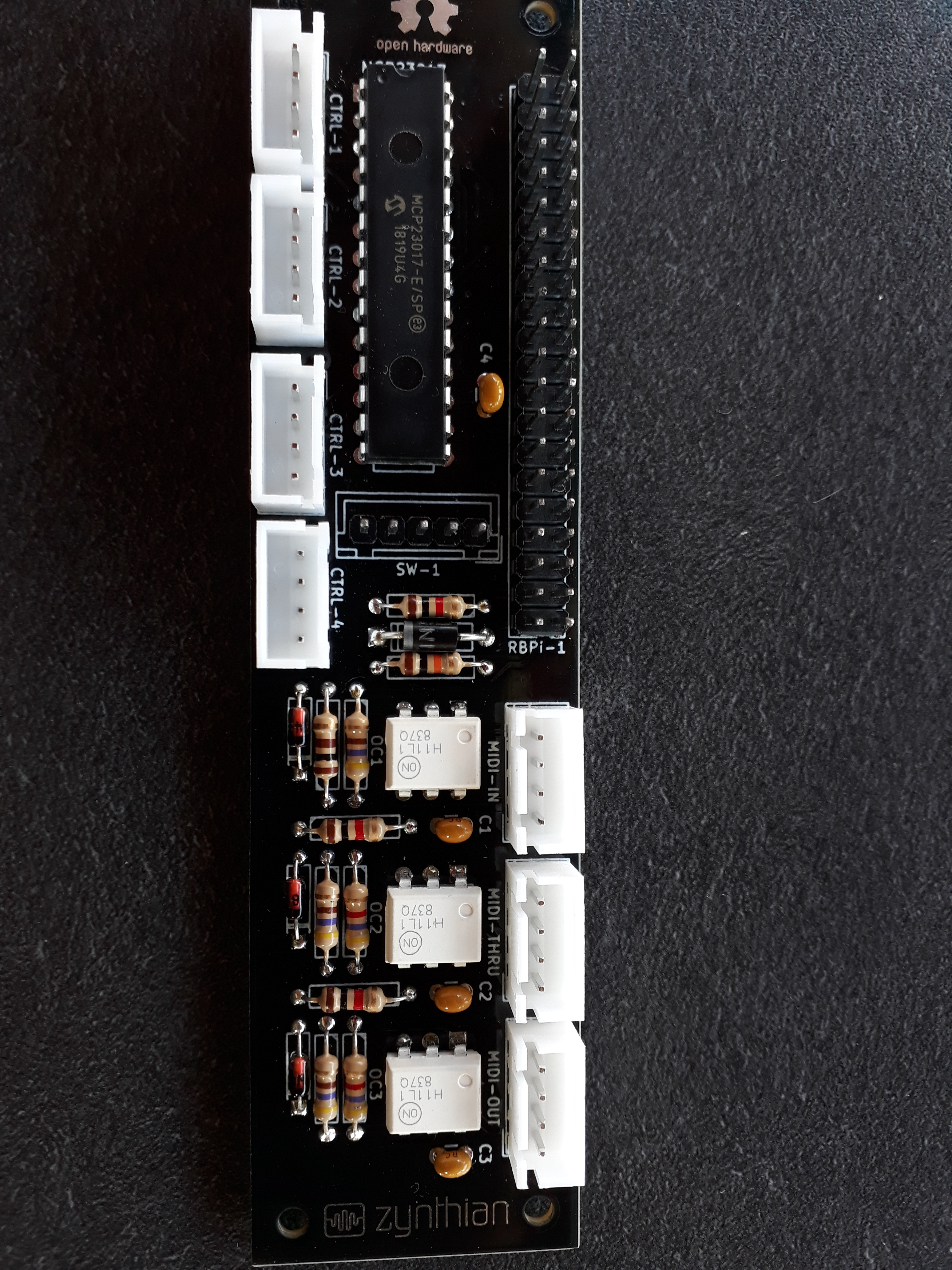 Raspberry pi does not start with all-in-one set - Building