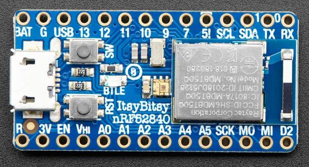 Adafruit ItsyBitsy nRF52840 Express